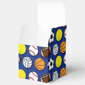 Deportes y modelo de los juegos caja para regalos