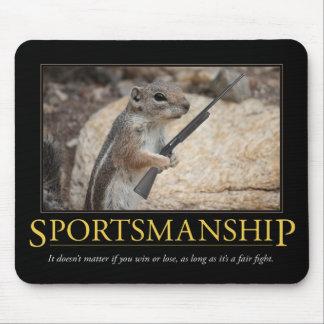 Deportividad Demotivational Mousepad