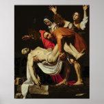 Deposición, 1602-4 (aceite en lona) poster
