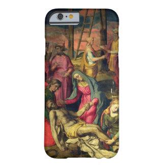 Deposición de la cruz, 1582 (tempera en el panel) funda para iPhone 6 barely there