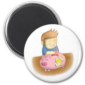 Deposit Your Love Piggy Bank Magnet