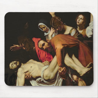 Deposition, 1602-4 (oil on canvas) mouse pad