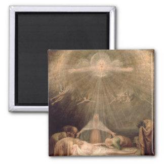 Deposition of Christ Fridge Magnets