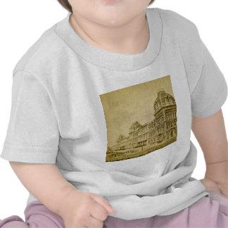 Depósito central magnífico circa 1890s camiseta