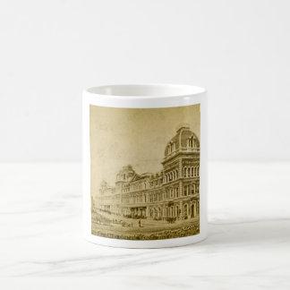 Depósito central magnífico circa 1890s tazas de café