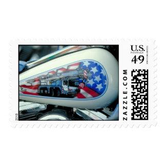 Depósito de gasolina - Sturgis. sello