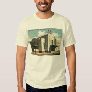 Depósito de tren de Santa Fe, vintage del Oklahoma Camisas
