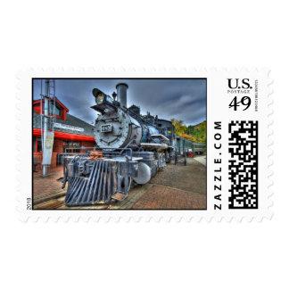 Depósito de tren sellos