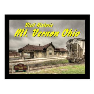 Depósito del ferrocarril de OHCA102.B&O - Mt Tarjetas Postales