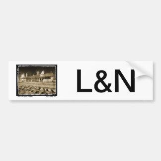 Depósito del pasajero de L&N Pegatina Para Auto