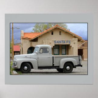 Depósito internacional de Santa Fe del camión de l