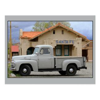 Depósito internacional de Santa Fe del camión de Tarjeta Postal