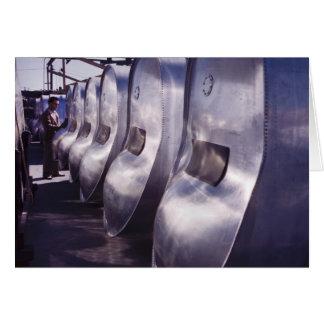Depósitos de gasolina del largo trayecto, 1942 tarjeton