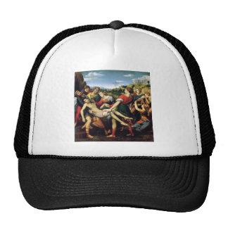 deposizione by Raffaello Sanzio da Urbino Trucker Hat