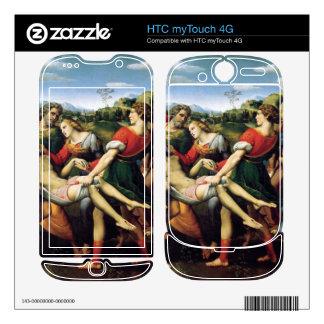 deposizione by Raffaello Sanzio da Urbino HTC myTouch 4G Decal