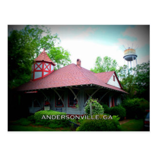 DEPOT - Andersonville, Georgia Postcard