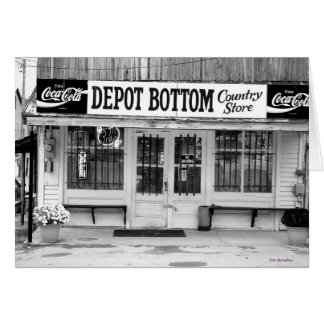 Depot Bottom Country Store Card