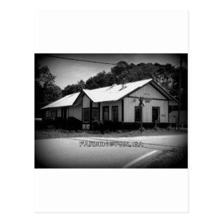 DEPOT - Farmington, Georgia Postcard