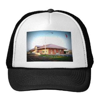 DEPOT - Pelham, Georgia Trucker Hats