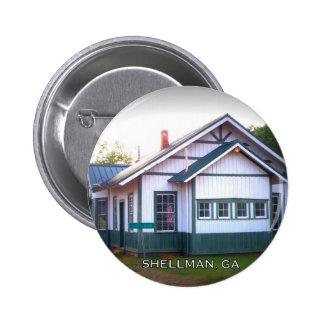 DEPOT - Shellman, Georgia Pinback Button
