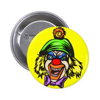 Depraved Evil Clown 2 Inch Round Button