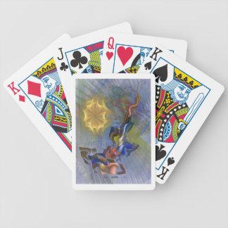Depredador floral barajas de cartas