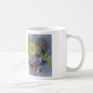 Depredador floral tazas de café