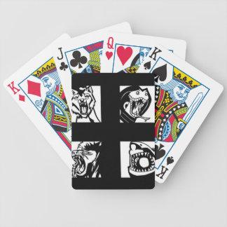 depredadores baraja de cartas