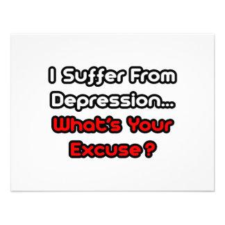 ¿Depresión… cuál es su excusa Anuncio