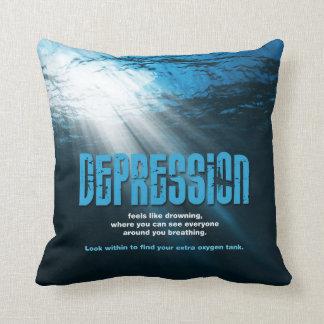 Depresión de la almohada 6 del zen