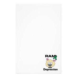 Depresión de RAM Papelería