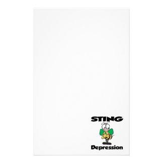 Depresión de STING Personalized Stationery