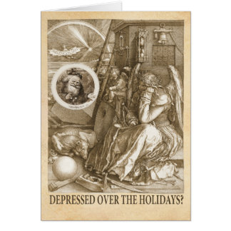 Depressed Over the Holidays? Greeting Cards