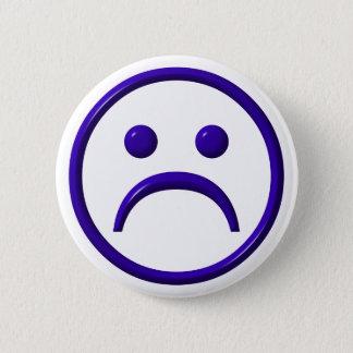 Depressed , Sad & Blue Face Button
