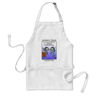 Depressed Salmon Funny Cards Mugs & Gifts Adult Apron