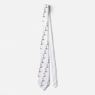 Depressed Stick Figure Tie