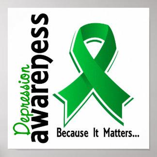 Depression Awareness 5 Poster