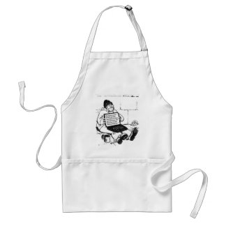 Depression/Recovery Adult Apron