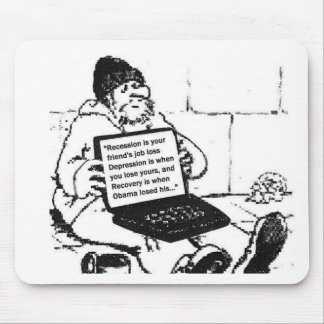 Depression/Recovery Mouse Pad