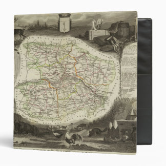 Dept About Hand and Dormouse 3 Ring Binder