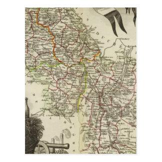 Dept About L'Isere Postcard