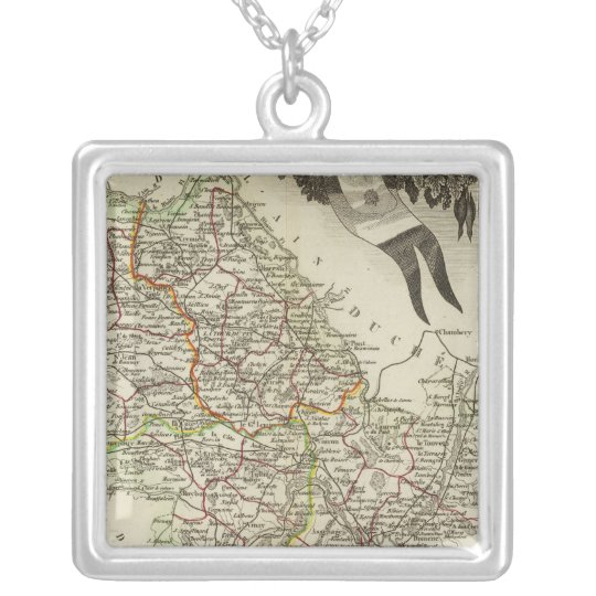 Dept About L'Isere Silver Plated Necklace