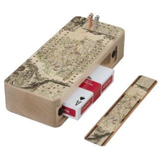 Dept Any Dordeogne Wood Cribbage Board