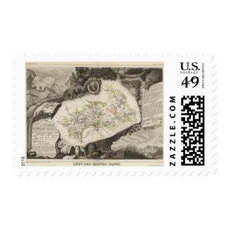 Dept De Hautes Alpes Stamp