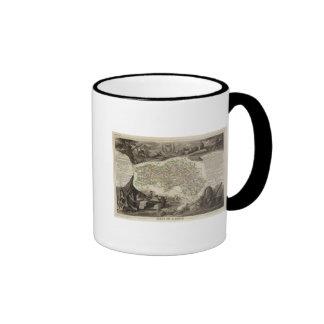 Dept. De L'Orne Ringer Coffee Mug