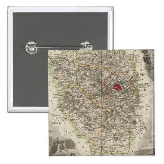 Dept. De Seine and Oise Pinback Button