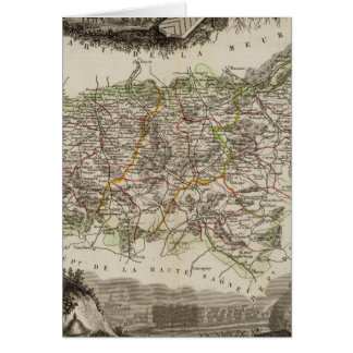 Dept Des Vosges Greeting Card