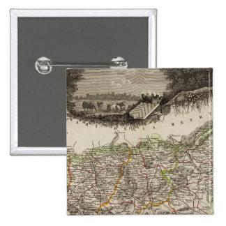 Dept Des Vosges Pinback Button