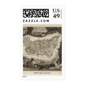 Dept Des Vosges Postage Stamps
