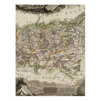 Dept Des Vosges Postcard